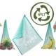 Wiederverwendbarer Fregie 5er Pack aus recyceltem Material