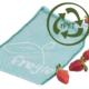 Wiederverwendbarer einzelner Fregie aus recyceltem Material